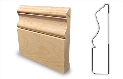 Wood Mouldings - Baseboards