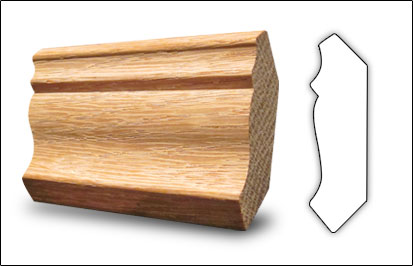 Crown mouldings oak trim wood trim Crown molding india