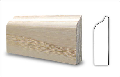 Wood Mouldings - Door Stop