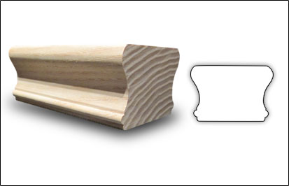 Wood Mouldings - CHand Rail